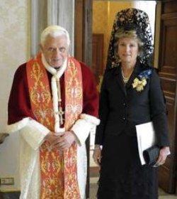 María Jesús Figa, nueva embajadora de España ante la Santa Sede, presenta sus cartas credenciales