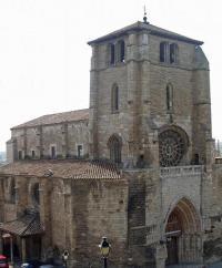 Recuperan las cabezas de las estatuas de la fachada de la iglesia burgalesa de San Esteban