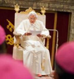 Benedicto XVI a Caritas Internationalis: «la identidad y eficacia de Caritas dependen de su sintonía con la Iglesia»
