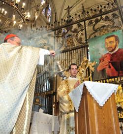 El cardenal Amato resalta el celo del beato Juan de Palafox por «extirpar el mal y plantar lo que es santo y bueno»