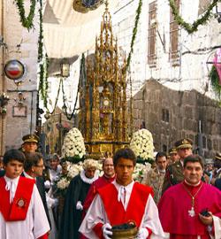 La archidiócesis de Toledo mantiene la procesión del Corpus el jueves por la mañana