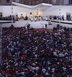 Gran entusiasmo y devoción en el encuentro y Vigilia del Papa con los Jóvenes en Zagreb