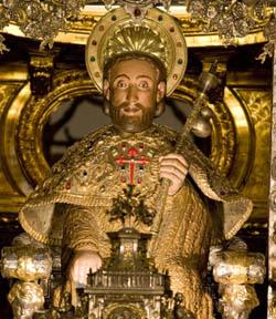 Enrique Alarcón descubre el nombre hebreo «Jacob» en el sepulcro del apóstol en Santiago de Compostela