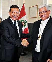 La Conferencia Episcopal Peruana ofrece oficialmente su apoyo a Ollanta Humana