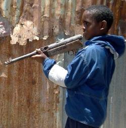 Cerca de 300.000 niños son usados como soldados en todo el mundo