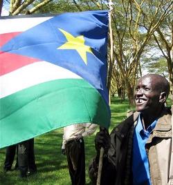 Ambiente festivo en Sudán del Sur días antes de su independencia