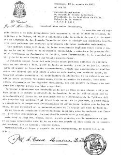 El Cardenal Medina advirtió a Sebastián Piñera que la ley «Acuerdo de Vida» es una ofensa a Dios