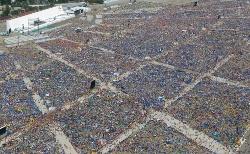 Más de veinte millones de personas han participado en actos de Benedicto XVI desde que fue elegido Papa