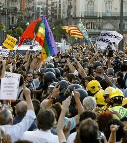 Los convocantes de la manifestación contra el Papa durante la JMJ denuncian a InfoCatólica