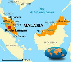 Musulmanes acosan a cristianos en Malasia