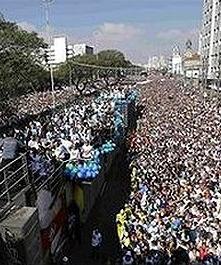 El mercado religioso para los evangélicos en Brasil mueve siete mil millones de dólares al año