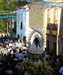 Una disputa por la peluca de la Virgen de Tejeda hace intervenir a la Guardia Civil
