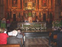 Más de mil adoradores nocturnos cordobeses celebran su aniversario en la Catedral de su diócesis