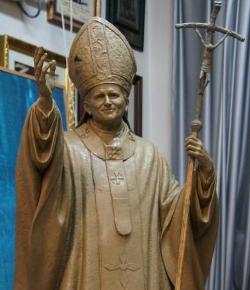 Nueva reunión para decidir el lugar de Sevilla donde se colocará la estatua de Juan Pablo II de Miñarro