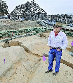 Descubren los restos del templo protestante en el que se casó Pocahontas