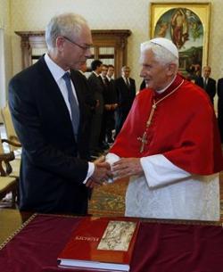 El Papa recibe en audiencia al presidente del Consejo Europeo