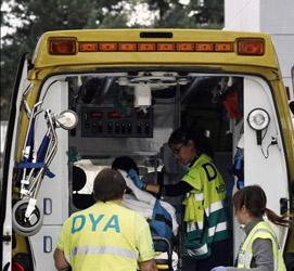 Cuatro mujeres resultan heridas al caerse el techo de una iglesia en Cantabria