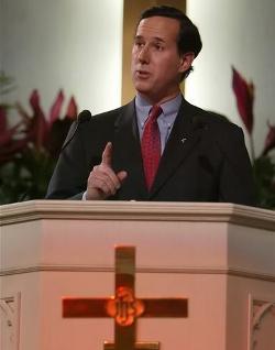 Santorum asegura que el uso de anticonceptivos es un peligro para la mujer y la sociedad