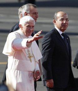El Papa reinvindica el derecho a la libertad religiosa en su primer discurso en México