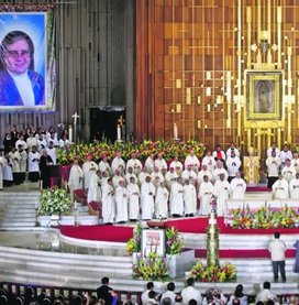 Beatificación en la basílica de Guadalupe de la mexicana madre María Inés