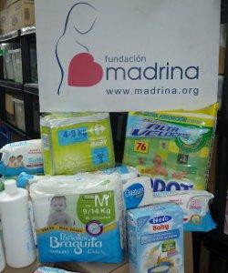 La Fundación Madrina lanza una nueva campaña para ayudar a madres con necesidades económicas