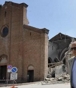Benedicto XVI visitará el 26 de junio la región italiana afectada por los terremotos de mayo