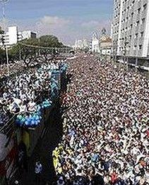 El número de evangélicos en Brasil aumenta en diez años en más de un 60 por ciento