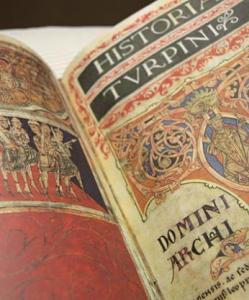 Exposición del Codex Calixtinus en Santiago de Compostela