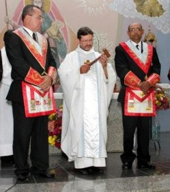 Misa conmemorativa masónica en Brasil
