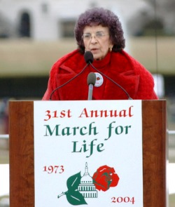 Falleció Nellie Gray, organizadora de la principal Marcha anual por la Vida en EE.UU.
