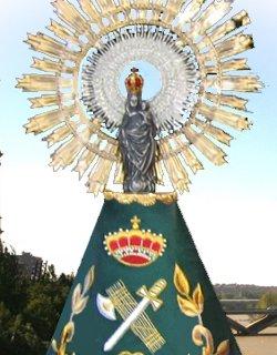 El Gobierno de España concede a la Virgen del Pilar la Gran Cruz de la Orden del Mérito de la Guardia Civil