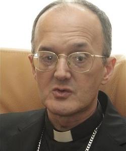 El obispo de Huesca dedica el templo de la nueva parroquia de San Francisco en la capital oscense