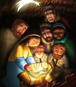 Los Valivan anuncian la Navidad con arte católico: canciones, postales, balconeras