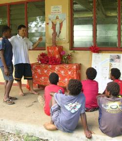 Día de la Infancia Misionera: de una hucha en Madrid a un colegio en India