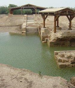 Diez mil cristianos jordanos peregrinan al lugar donde creen que fue bautizado el Señor