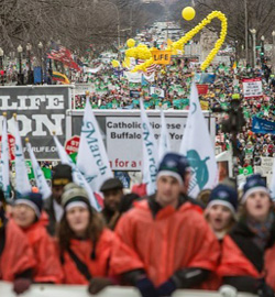 Multitudinaria «Marcha por la Vida» ayer en Washington reclama la prohibición del aborto en EE.UU.