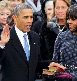 Un pastor protestante acusa a Obama de jurar sobre una Biblia en la que no cree y ante un Dios al que no conoce
