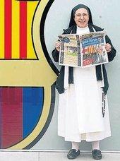 Sor Lucía Caram afirma que «no ser del Barça es un pecado» y llama soberbio y prepotente a Cristiano Ronaldo