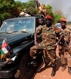 Golpe en la Rep�blica Centroafricana: �Estamos bien, pero no podemos salir de la misi�n�