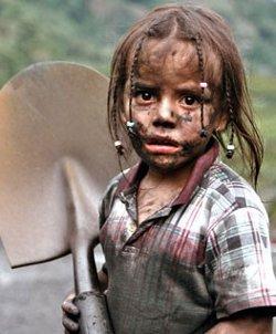 Ciento quince millones de niños trabajan en el mundo en condiciones cercanas a la esclavitud