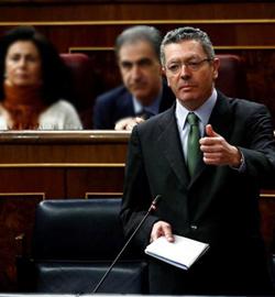 Gallardón empeña su palabra: la ley del aborto será aprobada en 2013