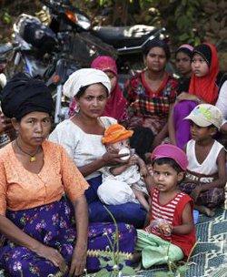 El gobierno de Birmania apoya la ley que limita a dos los hijos que pueden tener los musulmanes de Rajine