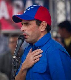 Henrique Capriles: «En Venezuela no se ha iniciado ningún diálogo»