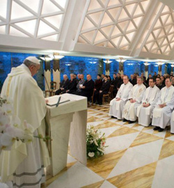 El Papa pide a los católicos que participen en la política
