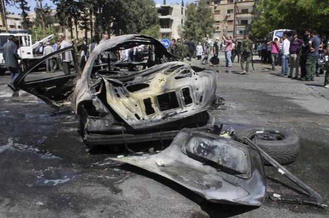 Cuatro muertos y ocho heridos en un atentado al lado de la Catedral ortodoxa de Damasco