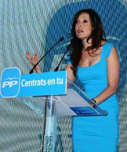 Una diputada del PP en las cortes valencianas muestra su rechazo a reformar la ley del aborto