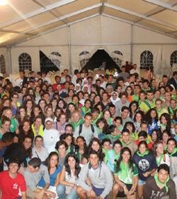 En España los jóvenes se unen a la JMJ Río 2013 desde El Rocío hasta Roncesvalles