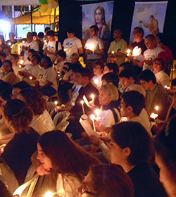 Miles de jóvenes católicos llegan a Brasil