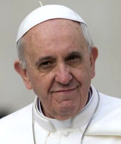 La primera encíclica del papa Francisco se llamará «Lumen fidei» y se publicará el 5 de julio