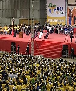 Papa Francisco a los voluntarios: vayan contracorriente, tengan el valor de asumir opciones definitivas